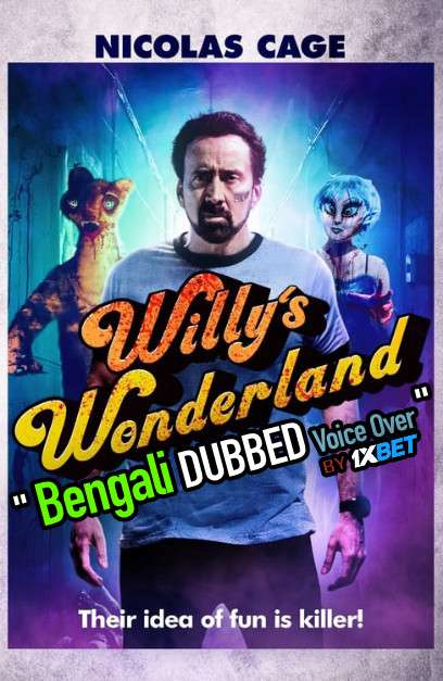 Willy's Wonderland (2021) Dual Audio 720p WebRip [Telugu – English] Free Download
