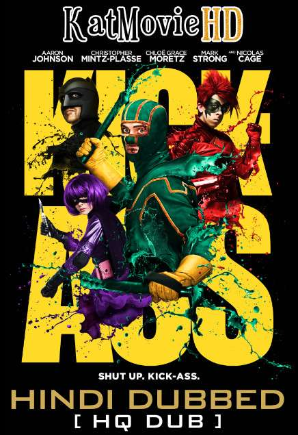Kick-Ass (2010) Hindi (HQ Dubbed) BluRay 1080p / 720p / 480p Dual-Audio x264 [With Ads !]