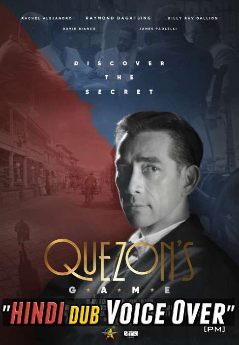 Quezon's Game (2018) Hindi (Voice Over) Dubbed + English [Dual Audio] WEBRip 720p [Full Movie]
