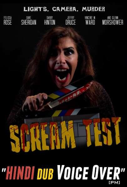 Scream Test (2020) Hindi (Voice Over) Dubbed + English [Dual Audio] WEBRip 720p [Full Movie]
