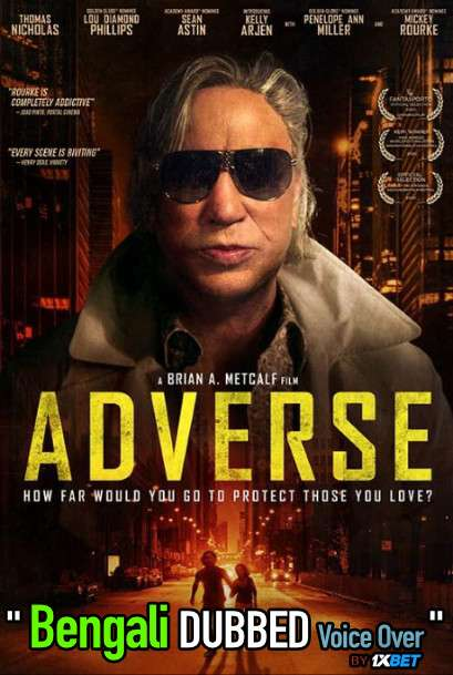 Adverse (2020) Bengali Dubbed (Voice Over) HDCAM 720p [Full Movie] 1XBET