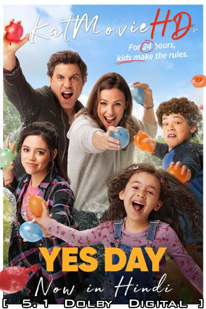 Yes Day (2021) Hindi Dubbed (DD 5.1) [Dual Audio] Web-DL 1080p 720p 480p HD x264 | Netflix Movie