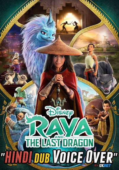 Raya and the Last Dragon (2021) WebRip 720p Dual Audio [Hindi (Voice Over) Dubbed + English] [Full Movie]