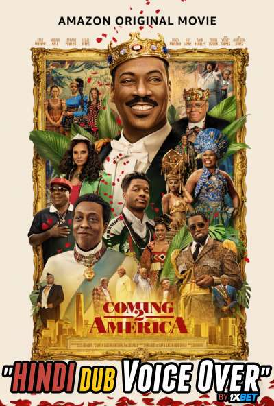 Coming 2 America (2021) Hindi (Voice Over) Dubbed+ English [Dual Audio] WebRip 720p [1XBET]
