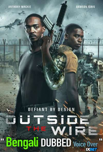 Outside the Wire (2021) Bengali Dubbed (Voice Over) WEBRip 720p [Full Movie] 1XBET