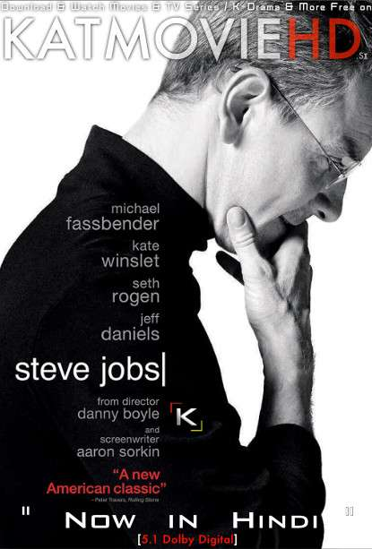 Steve Jobs (2015) Hindi Dubbed (5.1 DD ORG) [Dual Audio] BluRay 1080p 720p 480p x264 HD [Full Movie]