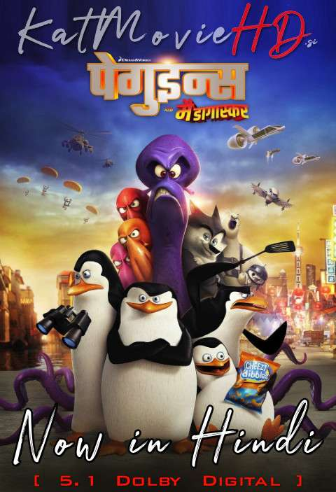 Penguins of Madagascar (2014) Hindi Dubbed (5.1 DD ORG) [Dual Audio] BluRay 1080p 720p 480p HD x264 [Full Movie]