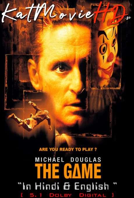 The Game (1997) Open-Matte Hindi (5.1 DD ORG) [Dual Audio] BluRay 1080p 720p 480p x264 HD