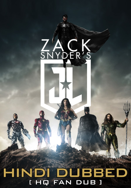 Zack Snyder's Justice League (2021) WebRip 720p Dual Audio [Hindi (Voice Over) Dubbed + English] [Full Movie]