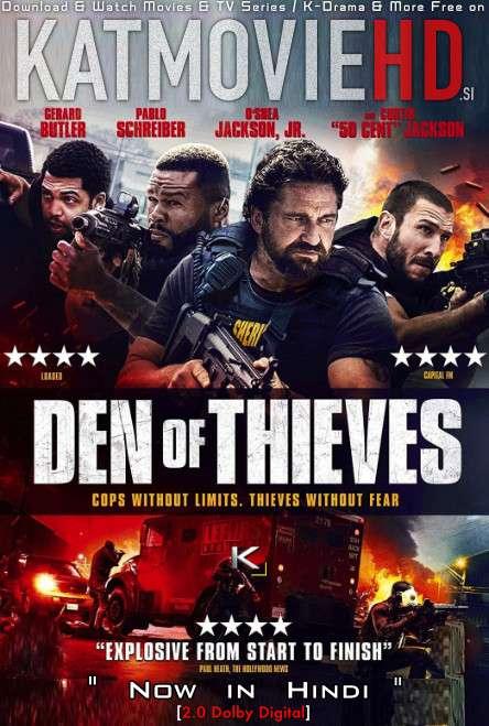 Den Of Thieves (2018) Hindi Dubbed (2.0 ORG) [Dual Audio] BluRay 1080p 720p 480p HD [Full Movie]