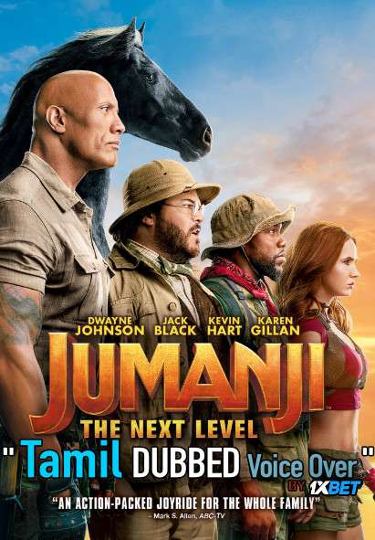 Jumanji The Next Level (2019) Tamil Dubbed (Voice Over) & English [Dual Audio] WebRip 720p [1XBET]