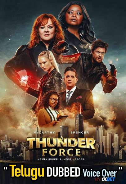 Thunder Force (2021) Telugu Dubbed (Voice Over) & English [Dual Audio] WebRip 720p [1XBET]