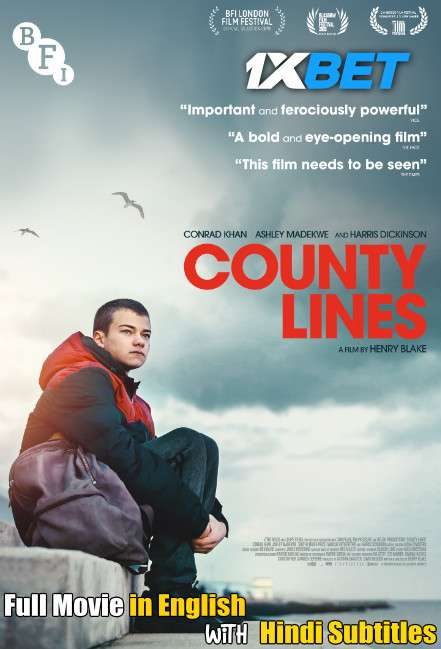 County Lines (2019) Full Movie [In English] With Hindi Subtitles | BluRay 720p [1XBET]