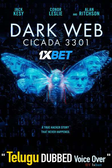 Dark Web Cicada 3301 (2021) Telugu Dubbed (Voice Over) & English [Dual Audio] BDRip 720p [1XBET]