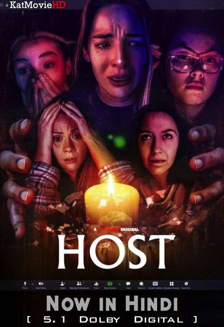 Host (2020) Hindi Dubbed (2.0 ORG) [Dual Audio] BluRay 1080p 720p 480p HD [Full Movie]