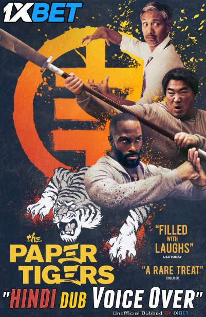 The Paper Tigers (2020) WebRip 720p Dual Audio [Hindi (Voice Over) Dubbed + English] [Full Movie]