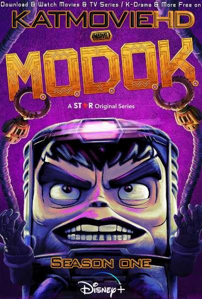 Marvel's MODOK (Season 1)  All Episodes | Web-DL 480p 720p (HEVC & x264) [In English] + ESubs