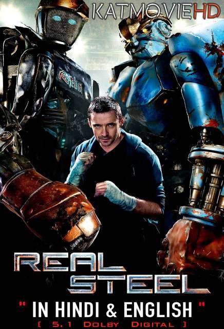 Real Steel (2011) Hindi Dubbed (5.1 DD) [Dual Audio] BluRay 1080p 720p 480p [HD]