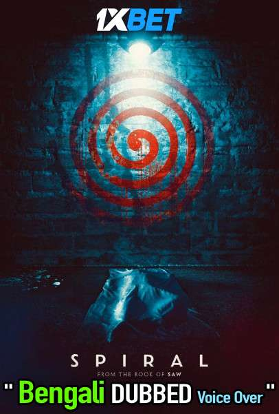 Spiral From The Book of Saw (2021) Bengali Dubbed (Voice Over) WEBRip 720p [Full Movie] 1XBET
