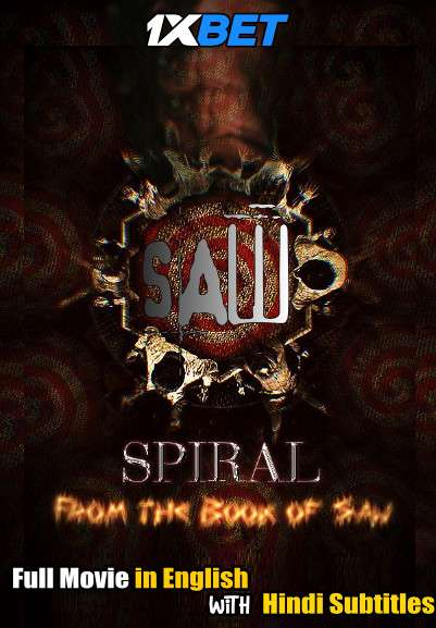 Spiral From The Book of Saw (2021) Full Movie [In English] With Hindi Subtitles | HDCAM 720p [1XBET]