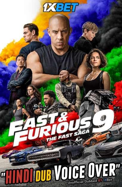 Fast & Furious 9 (2021) HDCAM 720p Dual Audio [Hindi (Voice over) Dubbed + English] [Full Movie]