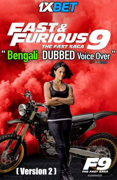 Fast and Furious F9 The Fast Saga (2021) Bengali Dubbed (Voice Over) Web-DL 720p HD [Full Movie] 1XBET