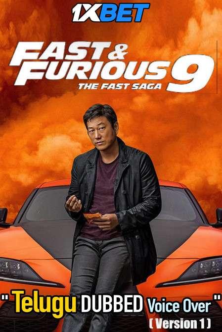Fast and Furious F9 The Fast Saga (2021) Telugu Dubbed (Voice Over) & English [Dual Audio] WebRip 720p [1XBET]