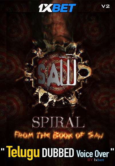 Spiral From The Book of Saw (2021) Telugu Dubbed (Voice Over) & English [Dual Audio] HDCAM (V2) 720p [1XBET]