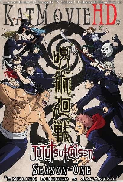 Jujutsu Kaisen (Season 1) English Dubbed [Dual Audio] | All Episodes 1-24 | Web-DL 720p HEVC [HD] | Anime Series