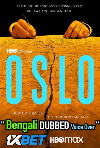 Oslo (2021) Bengali Dubbed (Voice Over) WEBRip 720p [Full Movie] 1XBET