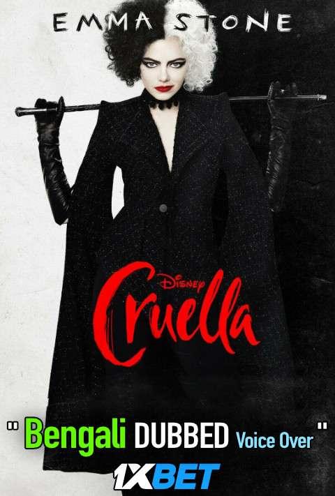Cruella (2021) Bengali Dubbed (Voice Over) WEBRip 720p [Full Movie] 1XBET