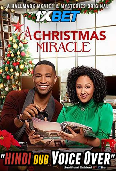 A Christmas Miracle (2019) Hindi (Voice Over) Dubbed+ English [Dual Audio] HDTV 720p [1XBET]