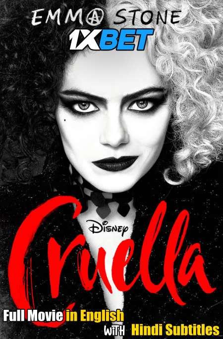 Cruella (2021) Full Movie [In English] With Hindi Subtitles | WEB-DL 720p [1XBET]