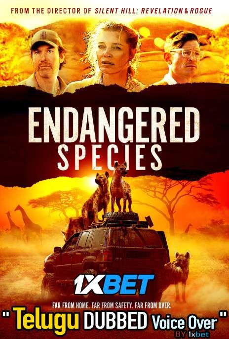 Endangered Species (2021) Telugu Dubbed (Voice Over) & English [Dual Audio] BDRip 720p [1XBET]