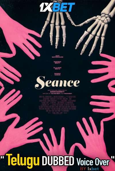 Seance (2021) Telugu Dubbed (Voice Over) & English [Dual Audio] WebRip 720p [1XBET]