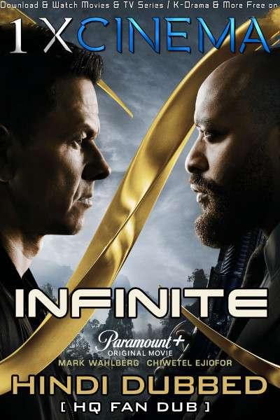 Infinite (2021) WEB-DL 720p [Dual Audio] Hindi (HQ Fan Dub) + English (ORG) [1XBET]