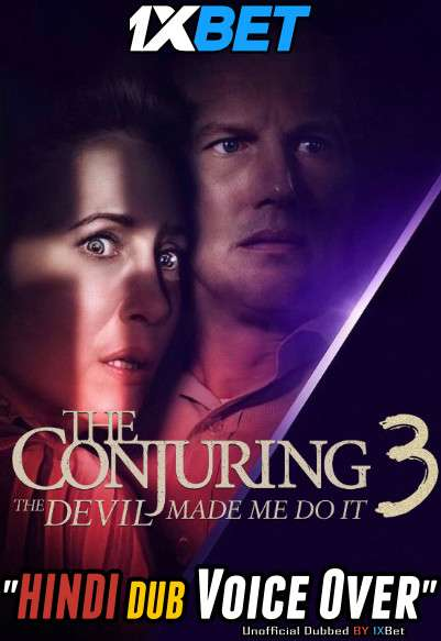 The Conjuring The Devil Made Me Do It (2021) Hindi (Voice Over) Dubbed+ English [Dual Audio] WebRip 720p [1XBET]