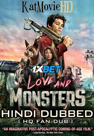 Love and Monsters (2020) Hindi (HQ Fan Dubbed) [Dual Audio] BluRay 1080p / 720p / 480p [With Ads !]