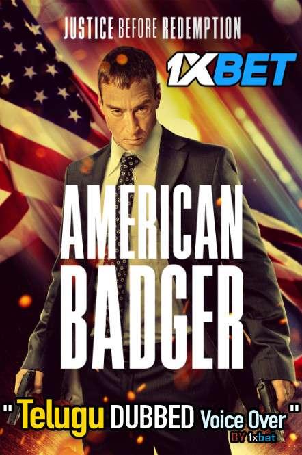 American Badger (2021) Telugu Dubbed (Voice Over) & English [Dual Audio] WebRip 720p [1XBET]