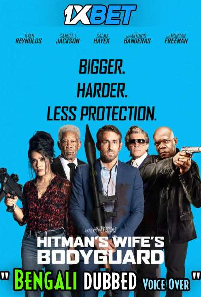 The Hitman's Wife's Bodyguard (2021) Bengali Dubbed (Voice Over) WEBRip 720p HD [1XBET]