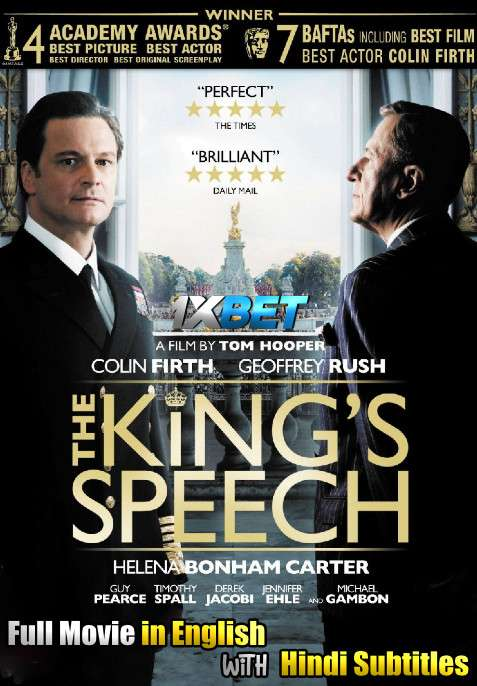 The King's Speech (2010) WebRip 720p Full Movie [In English] With Hindi Subtitles