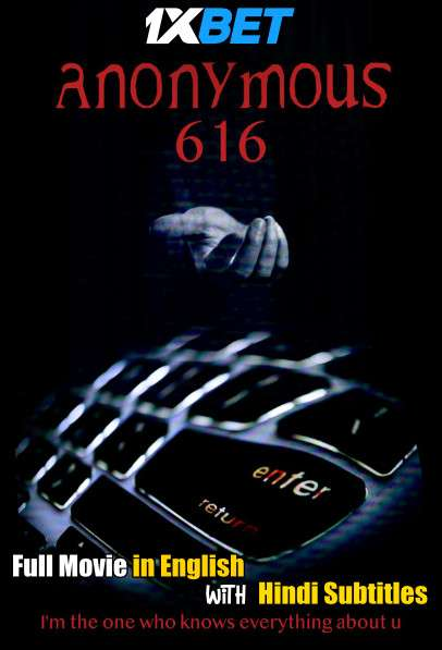 Download Anonymous 616 (2018) WebRip 720p Full Movie [In English] With Hindi Subtitles Full Movie Online On 1xcinema.com
