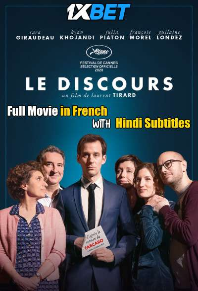 Download Le discours (2020) CAMRip 720p Full Movie [In French] With Hindi Subtitles Full Movie Online On 1xcinema.com