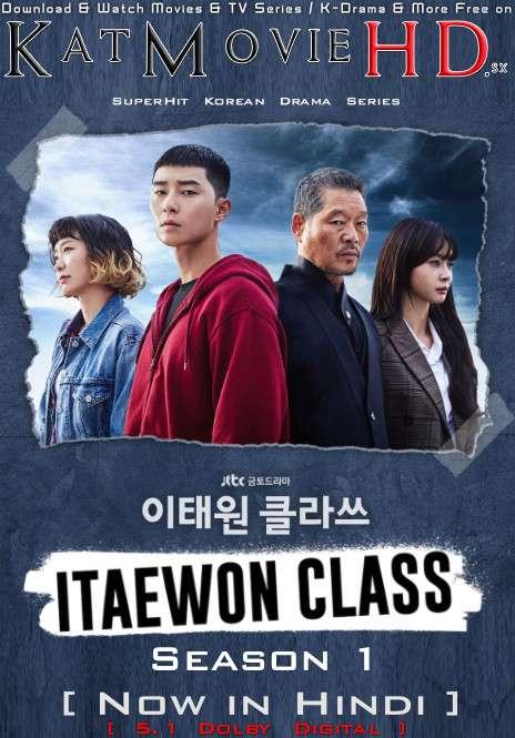 Itaewon Class (Season 1) [Hindi Dubbed 5.1 DD + Korean] Dual Audio | WEB-DL 1080p 720p 480p [NF KDrama Series]