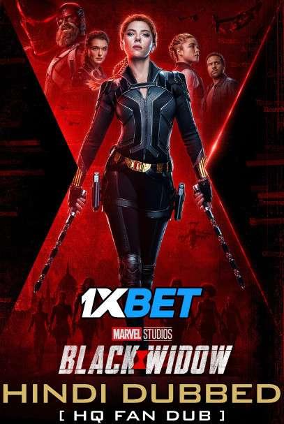 Black Widow (2021) Hindi (HQ Fan Dub) [Dual Audio] WEB-DL 1080p 720p 480p [1XBET]