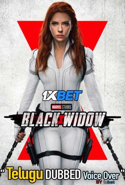 Black Widow (2021) Telugu Dubbed (Voice Over) & English [Dual Audio] WebRip 720p [1XBET]