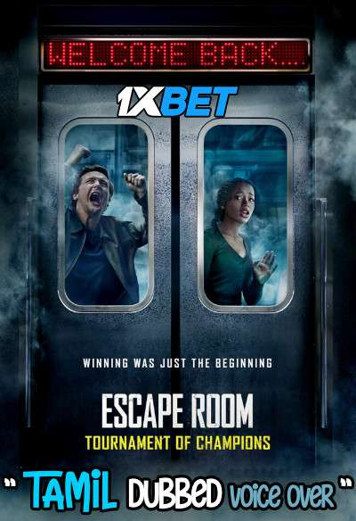 Escape Room: Tournament of Champions (2021) Tamil Dubbed (Voice Over) [Dual Audio] WEBRip 720p [1XBET]