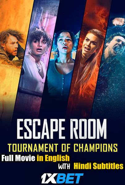 Escape Room: Tournament of Champions (2021) Full Movie [In English] With Hindi Subtitles | CAMRip 720p [1XBET]