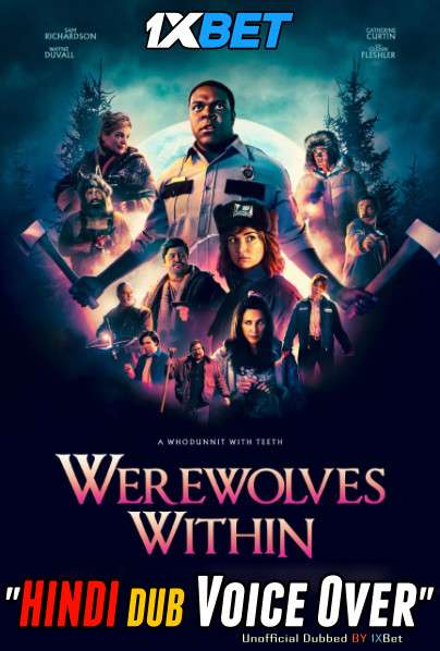 Werewolves Within (2021) Hindi (Voice Over) Dubbed+ English [Dual Audio] WebRip 720p [1XBET]