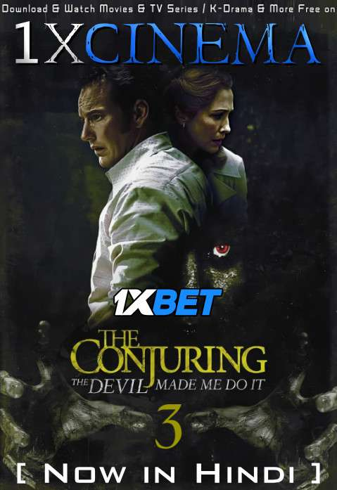 The Conjuring The Devil Made Me Do It (2021) Hindi Dubbed [Cam Cleaned] Dual Audio | WebRip 1080p 720p 480p HD